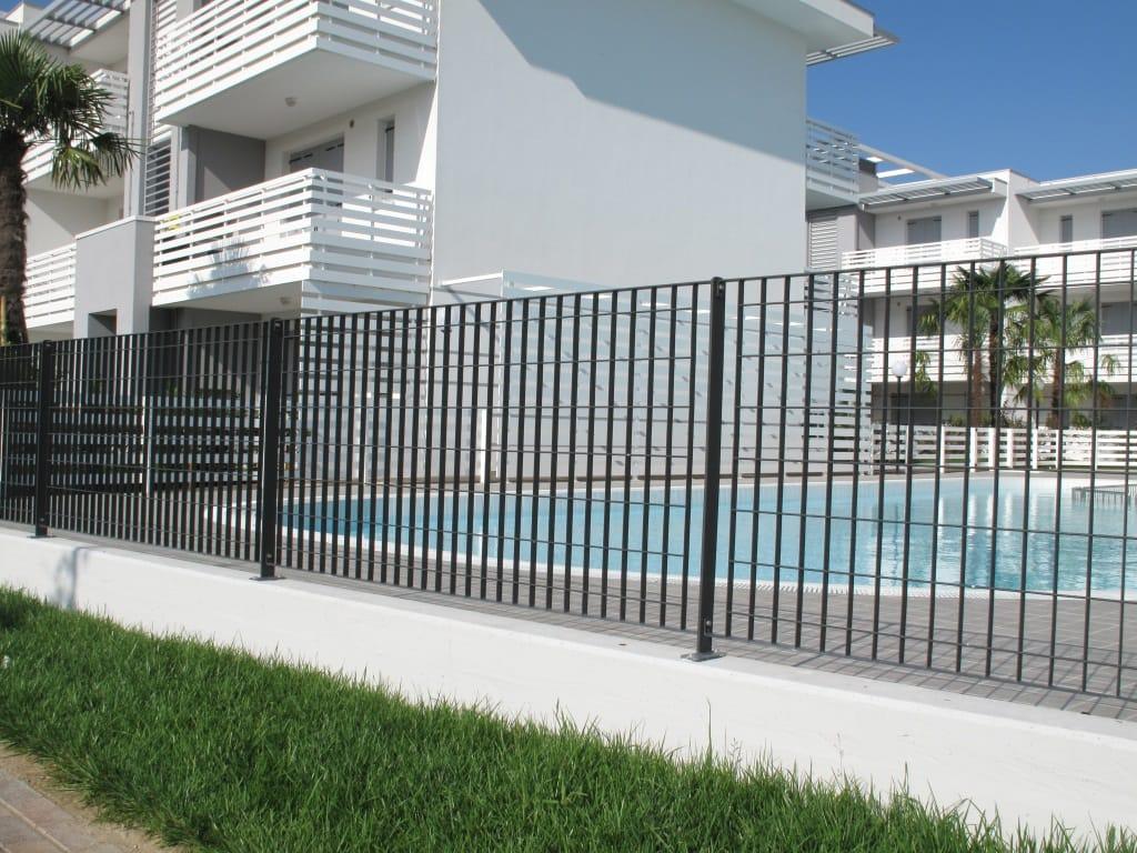 Modular steel fence multisar by grigliati baldassar