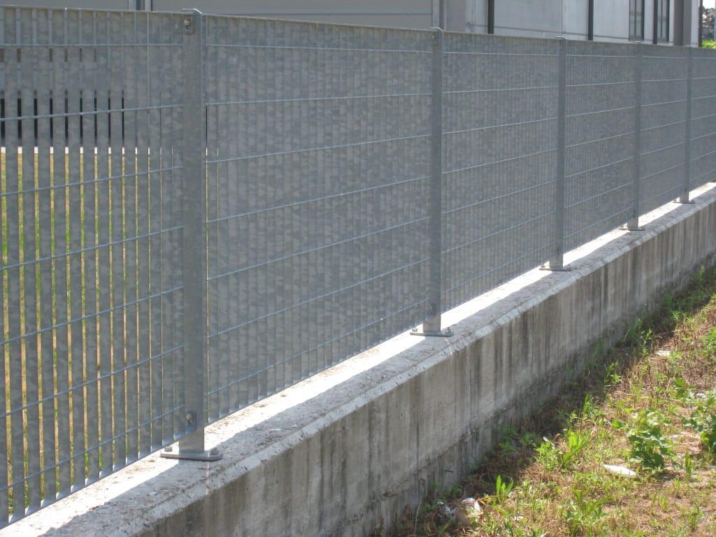 Recinzione modulare in acciaio multisar 2 3 4 by baldassar for Baldassar recinzioni