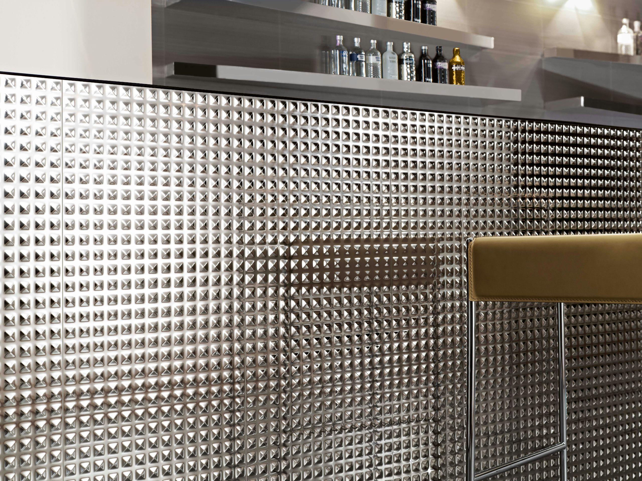 Revestimiento de parede 3d de cer mica hotel by gres - Revestimiento de parede ...