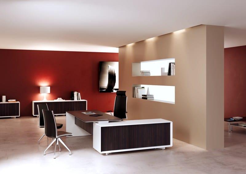 Ceo escritorio de oficina ejecutivo by mascagni dise o r s for Diseno de escritorios de oficina