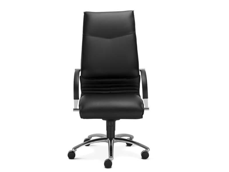 ARTÙ Poltrona ufficio direzionale con schienale alto by MASCAGNI