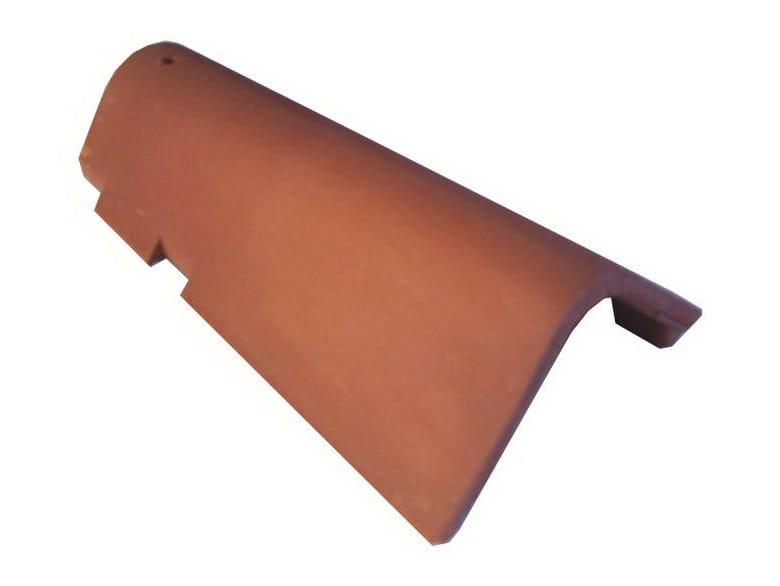 Tuile canal et tuile plate pour couverture en terre cuite historical v by ceipo ceramiche - Tuile plate terre cuite ...
