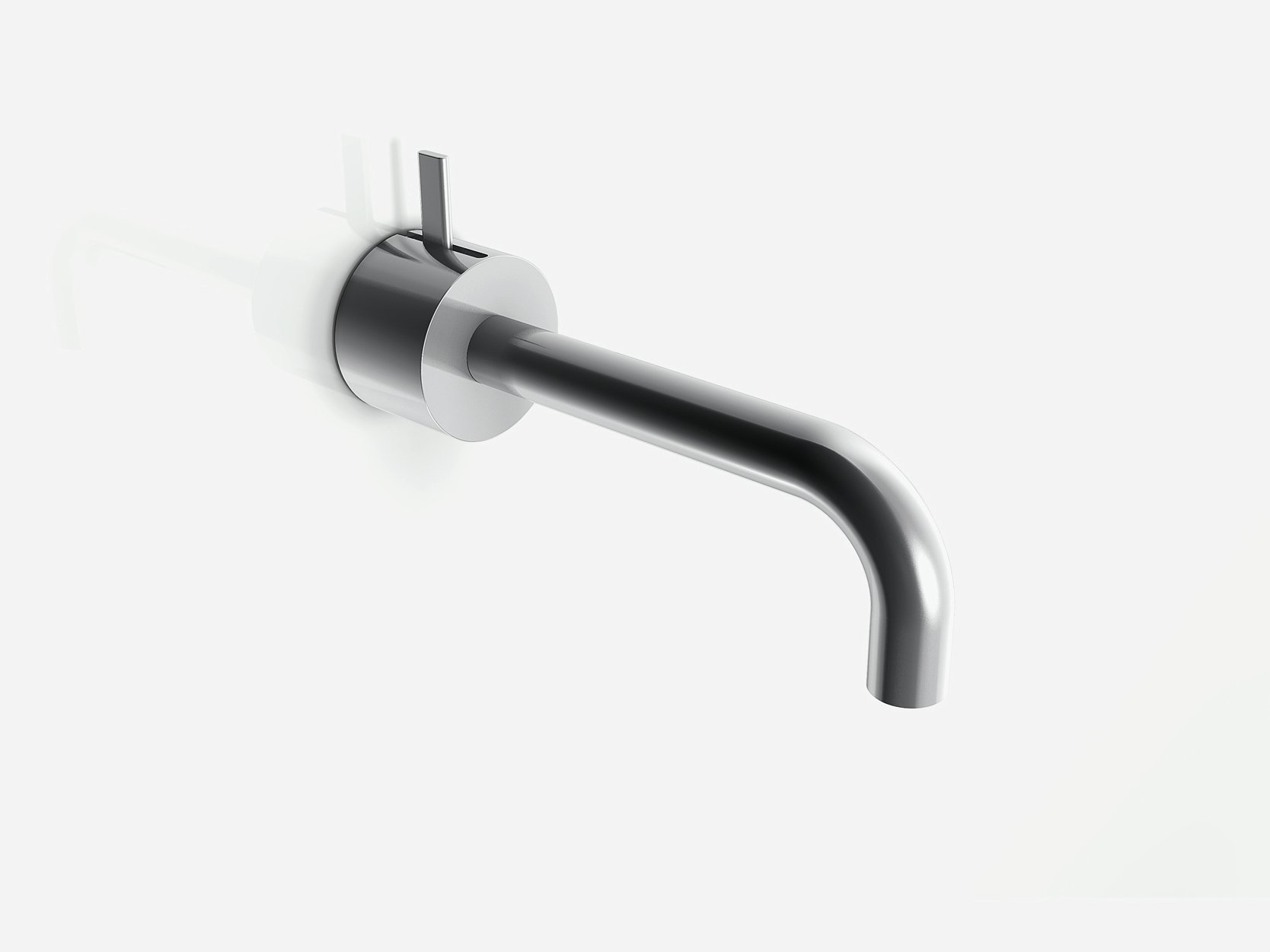 af 21 wall mounted washbasin mixer by aboutwater design. Black Bedroom Furniture Sets. Home Design Ideas