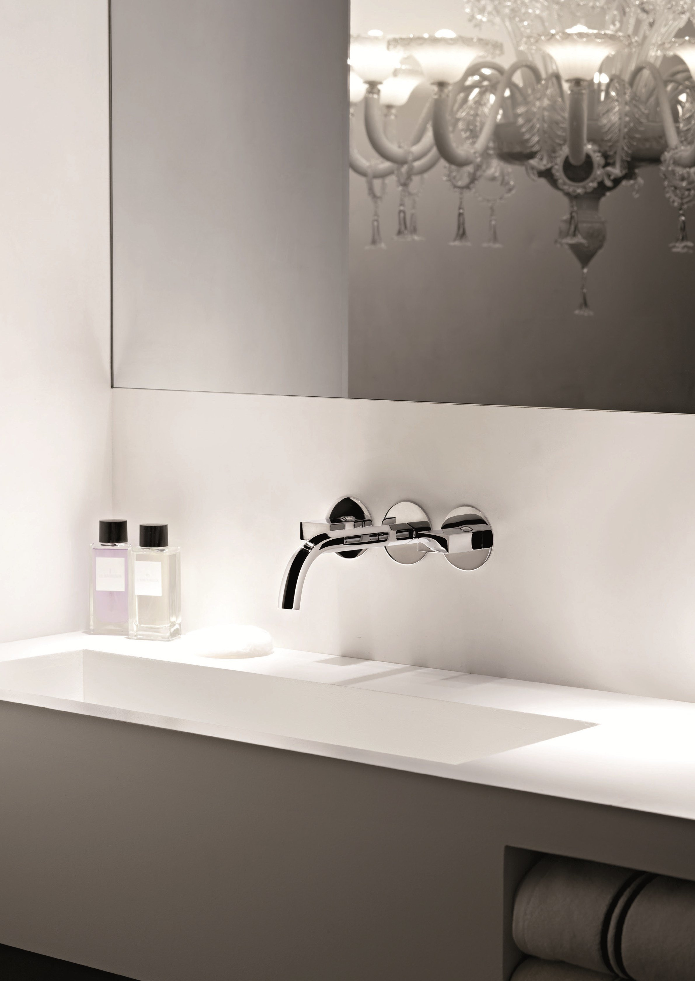 Venezia wall mounted washbasin tap by fantini rubinetti for Rubinetti design