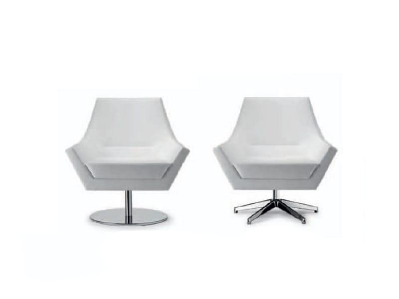 fauteuil pivotant avec rembourrage ignifuge fly too 063 by tonon design guggenbichler design. Black Bedroom Furniture Sets. Home Design Ideas