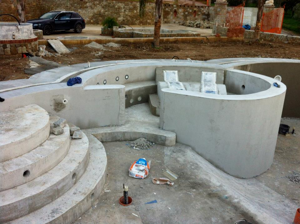 Self supporting formwork panel for slab h2wall pool by for Self sustaining pool