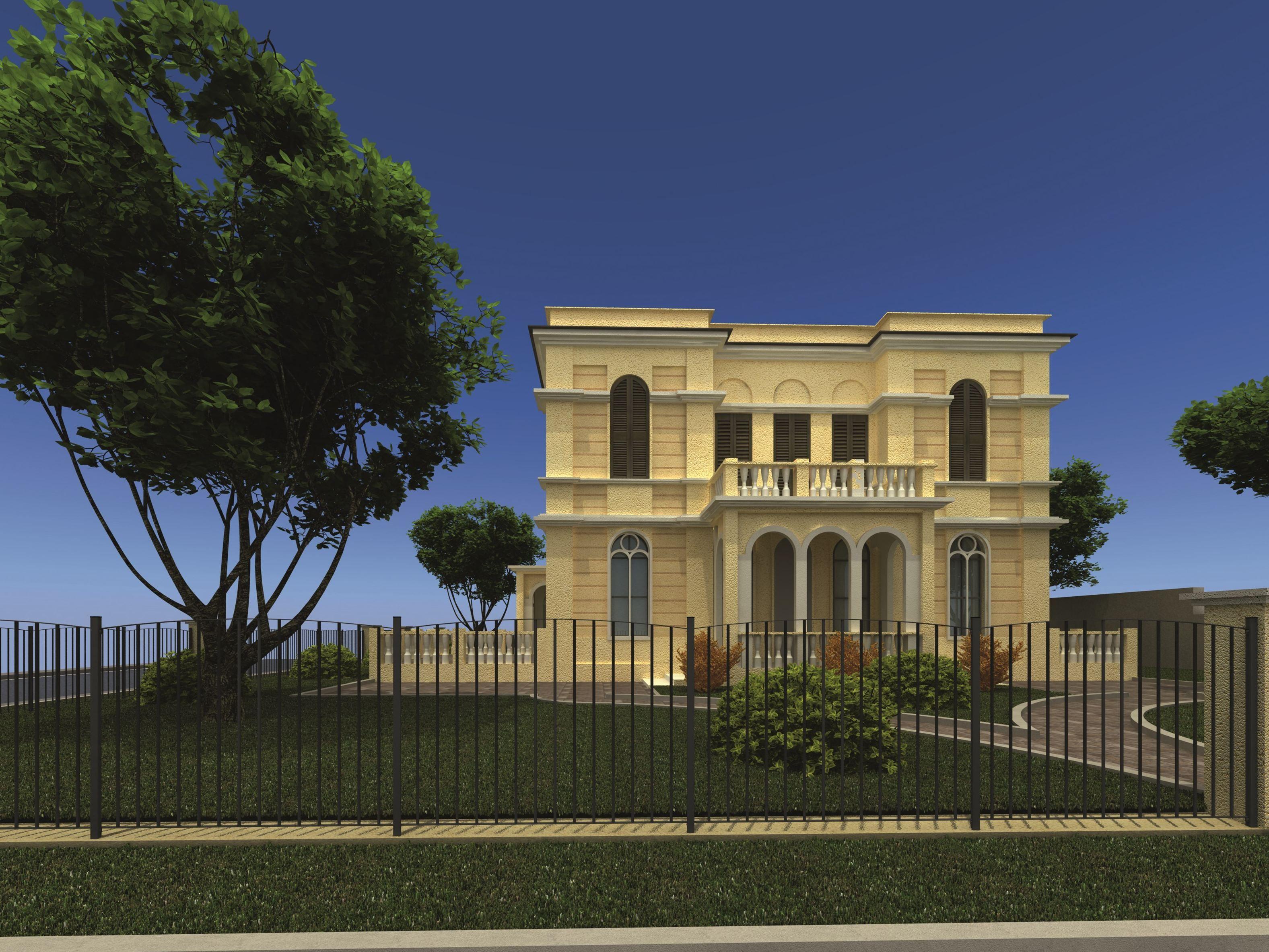 palladio recinzione by betafence italia. Black Bedroom Furniture Sets. Home Design Ideas