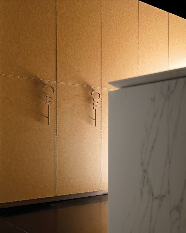 Cuisine en marbre avec lot wind leather and marble by for Cuisine 3d solidworks