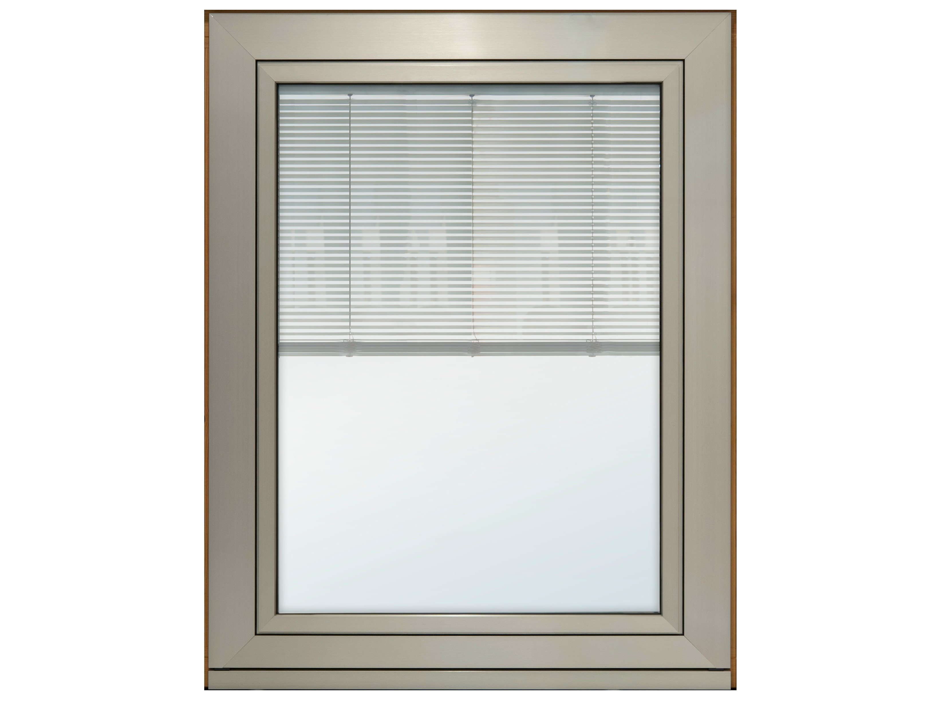 Eternity maxi window with built in blinds by pavanello for Windows with built in shades