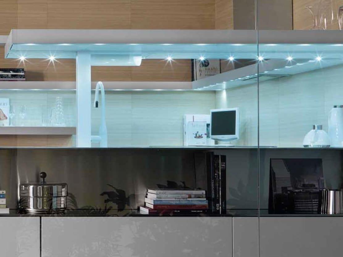 Cucina Laccata Senza Maniglie LIVING By TONCELLI CUCINE #437688 1111 833 Immagini Di Cucine In Muratura Moderne