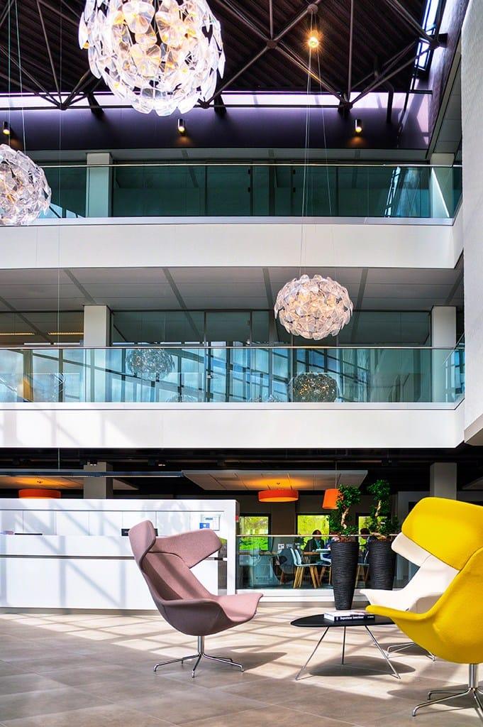 Geländer aus glas easy glass® slim by q railing italia