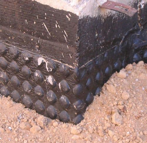 impermeabilizzazione muri controterra in pietra