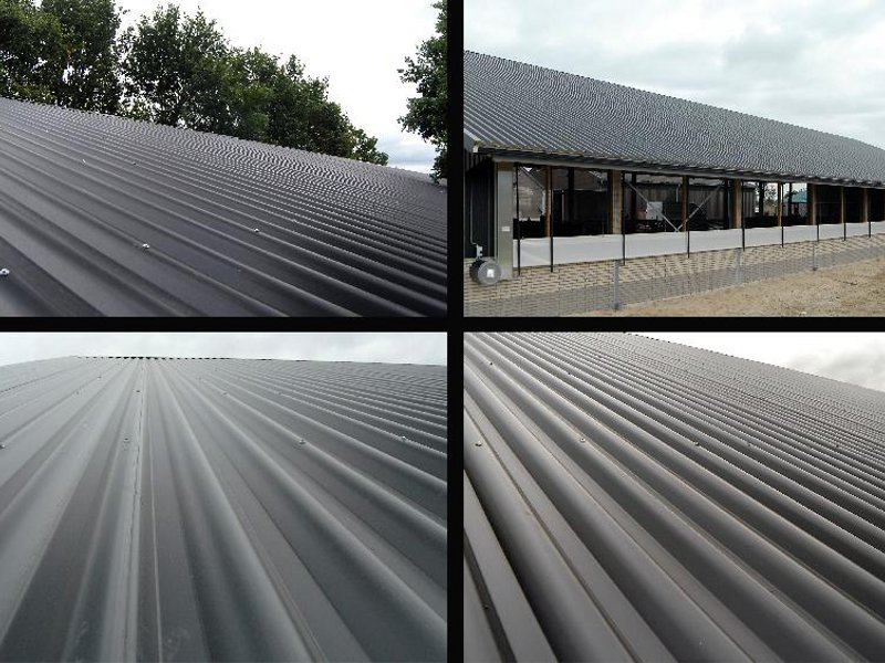Insulated Metal Panel For Roof Omega By Italpannelli