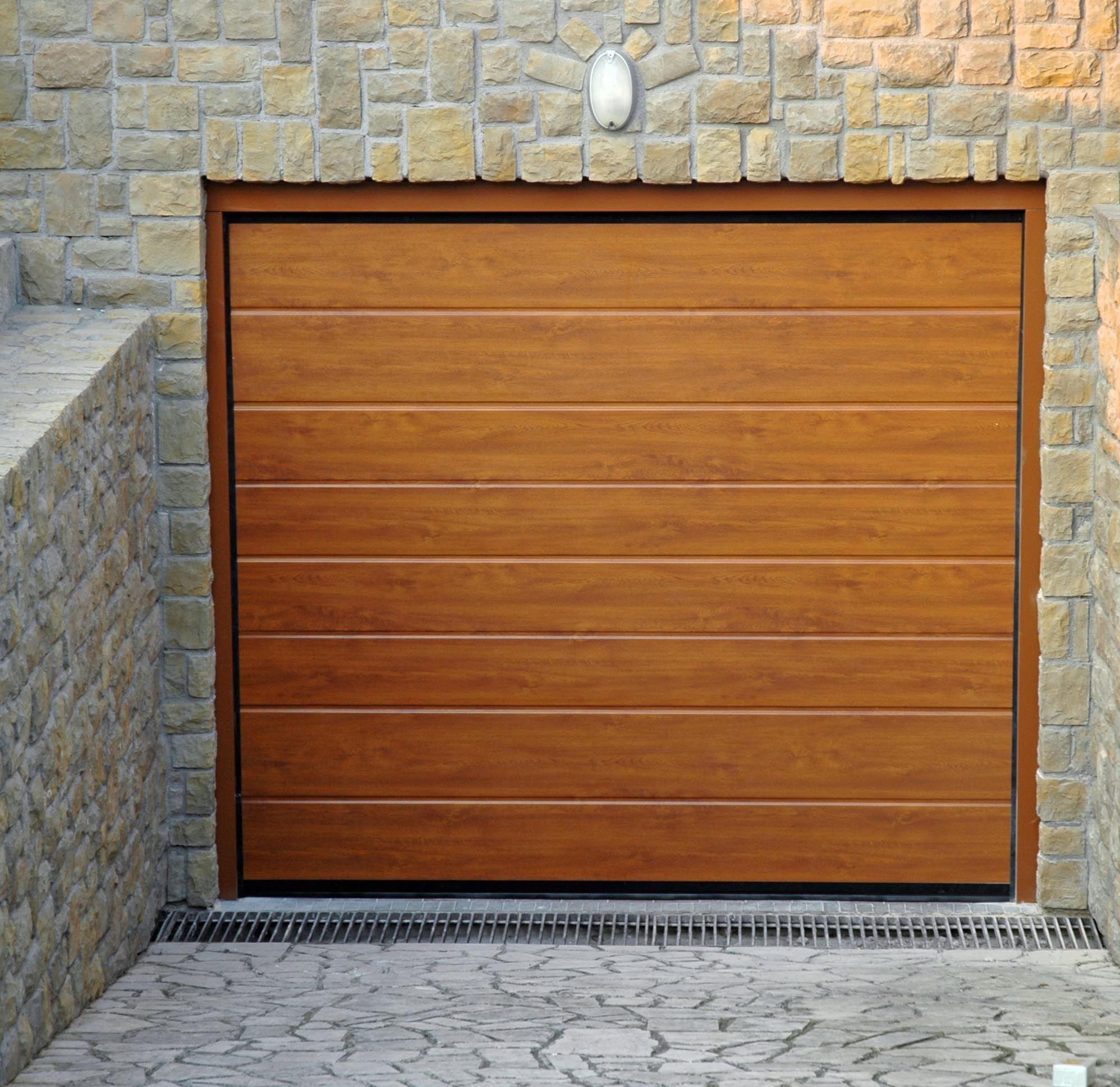 Puerta de garaje seccional italdoor apz by italpannelli - Puerta de garaje seccional ...