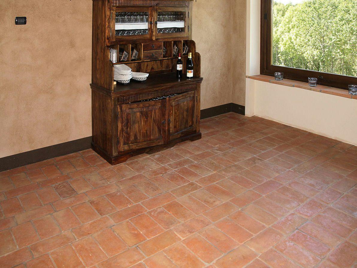 Piso de barro cozido para interior e exterior handmade for Pisos de interiores