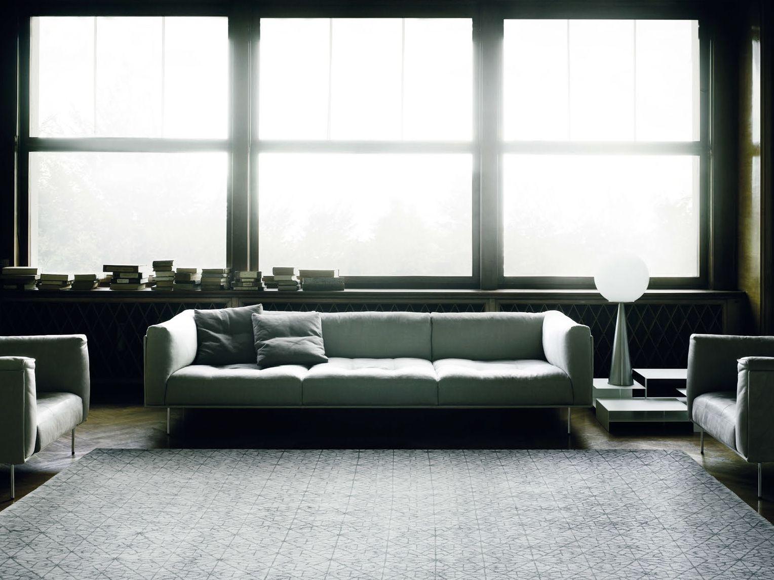 sofa rod xl by living divani design piero lissoni. Black Bedroom Furniture Sets. Home Design Ideas
