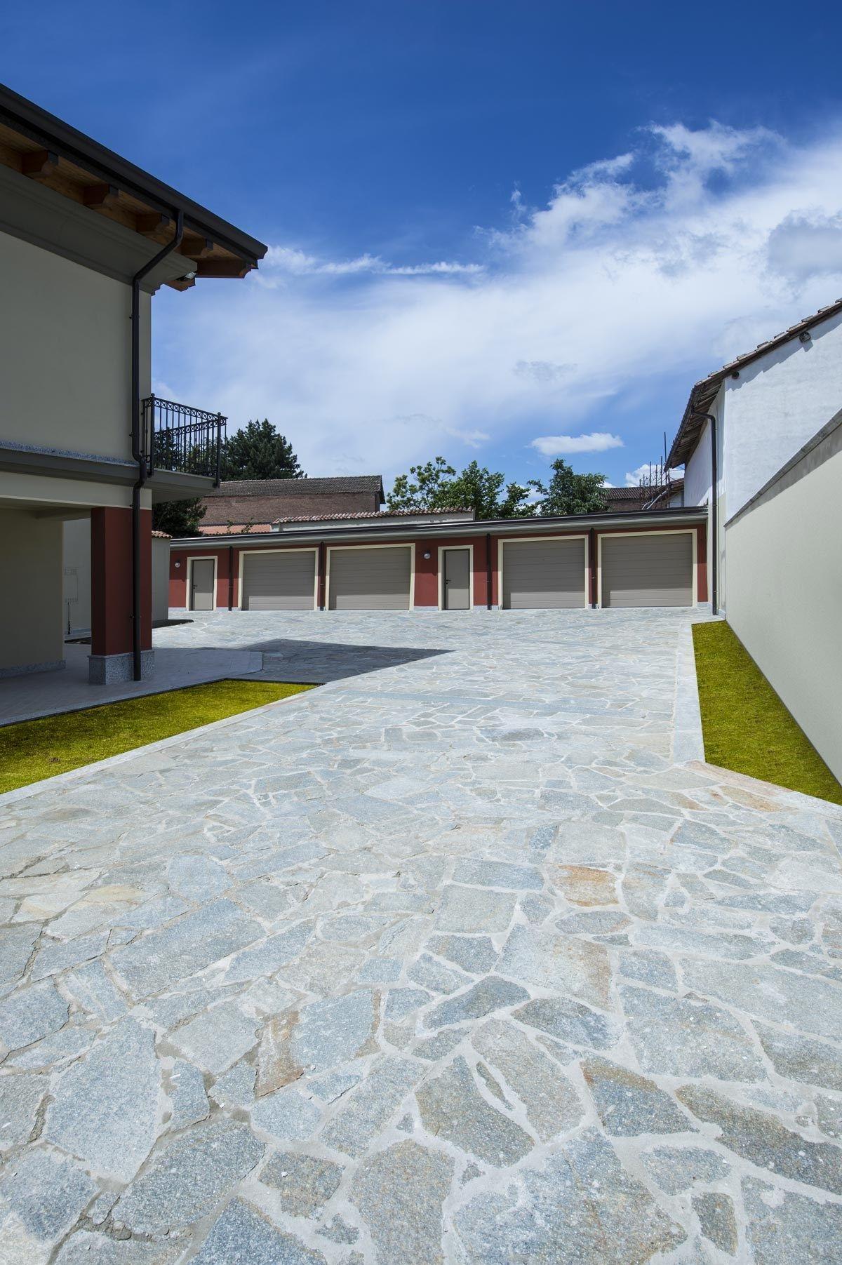 Pavimento de piedra natural jolly grigia by b b - Pavimento para exterior ...