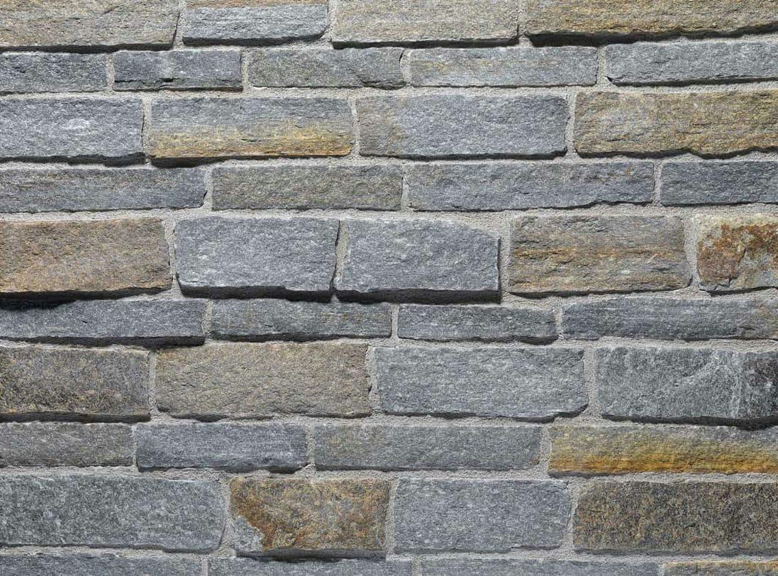 Revestimiento de fachada de piedra natural luserna reale - Fachada de piedra natural ...