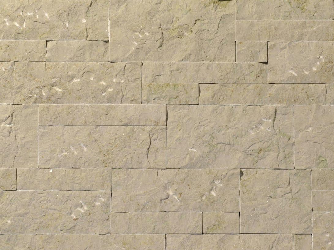 Revestimiento de fachada de piedra natural midollino by b b - Fachada de piedra natural ...
