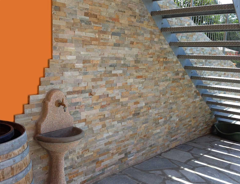 Revestimiento de fachada de piedra natural scaglia by b b - Fachadas ventiladas de piedra ...