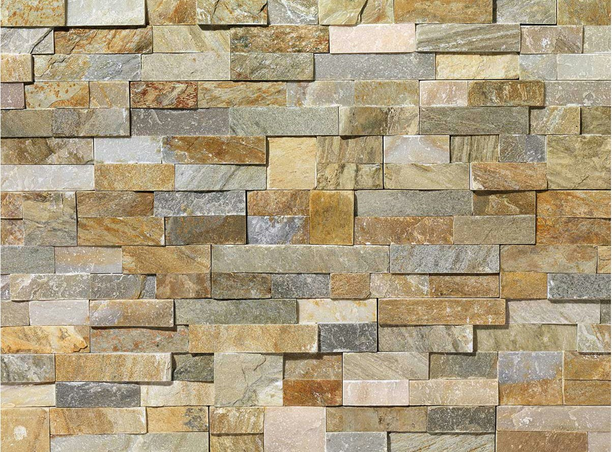 Revestimiento de fachada de piedra natural scaglia by b b for Losetas decorativas pared