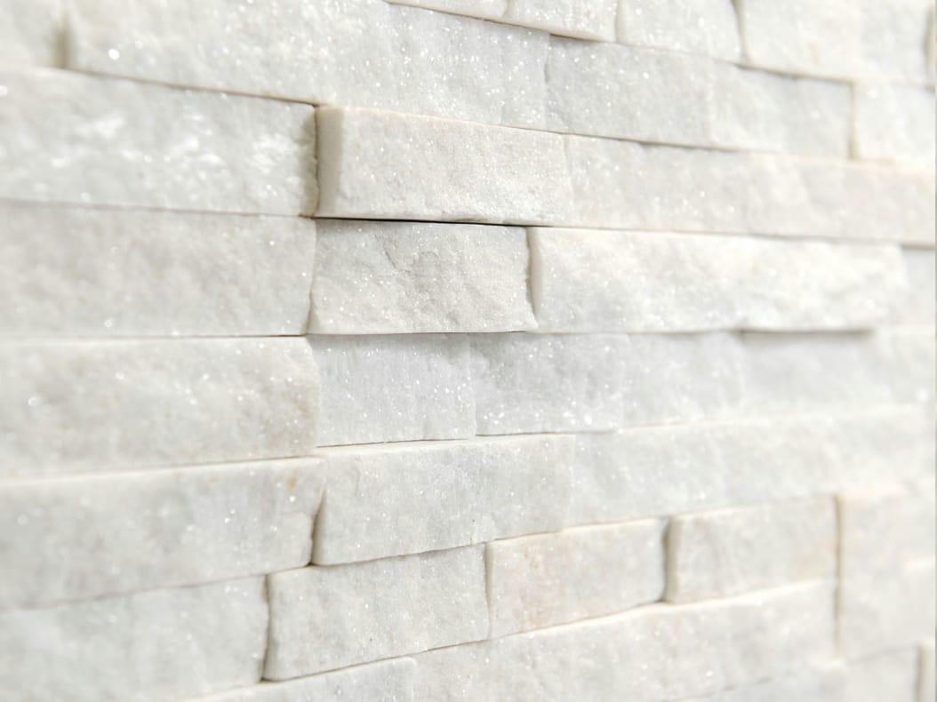 Rivestimento Esterno In Pietra Bianca Pareti Con Muri In Pietra A