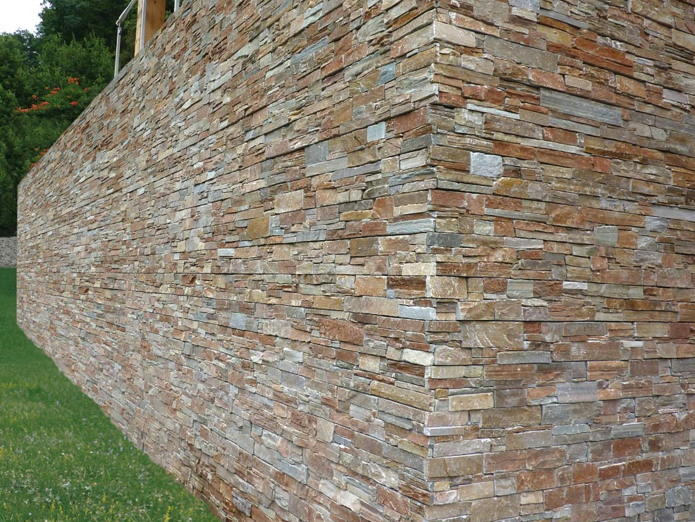 SCAGLIA CANYON Revestimiento de pared de piedra natural by B&B