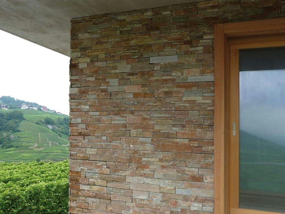 Scaglia canyon revestimiento de pared de piedra natural by b&b