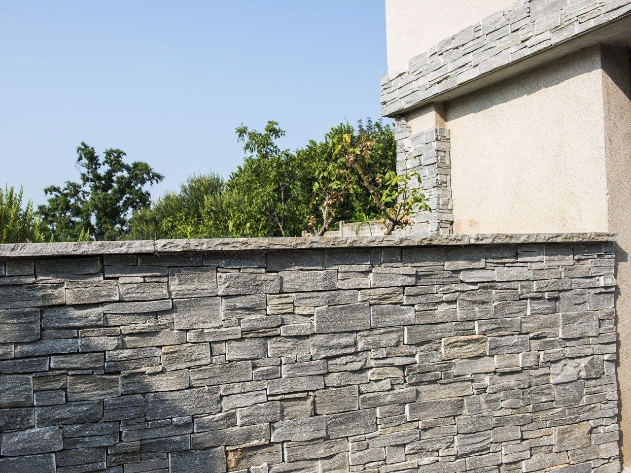 SCAGLIA GREY Rivestimento in pietra naturale by B&B