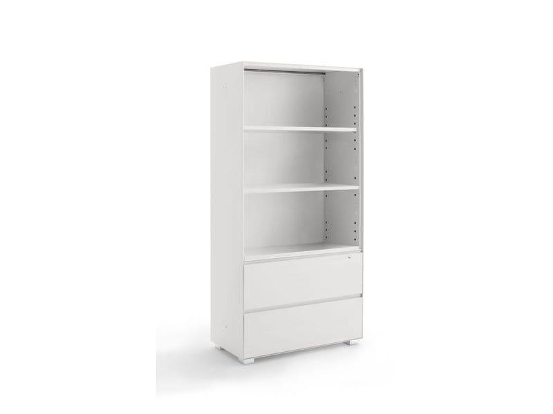 armoire de bureau modulable primo combi by dieffebi design takiro yuta. Black Bedroom Furniture Sets. Home Design Ideas