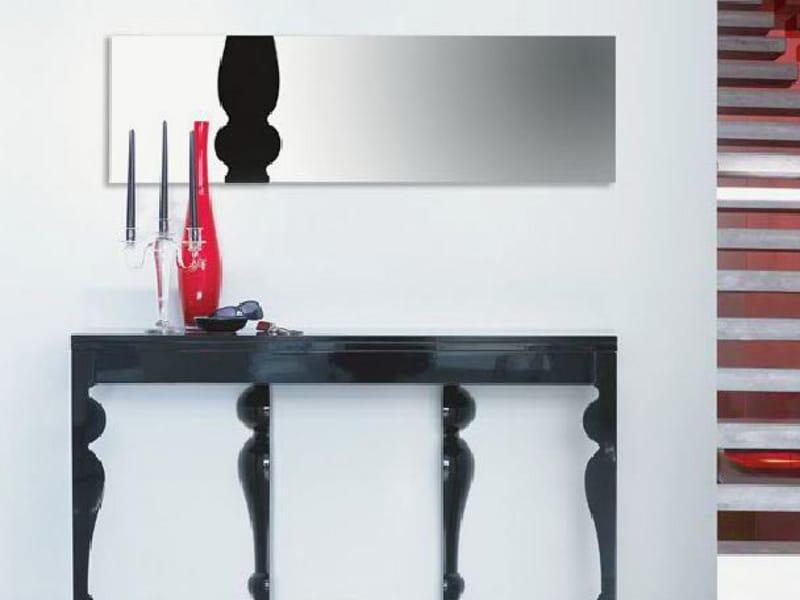 Miroir rectangulaire mural collection giunone by linfa for Miroir mural rectangulaire design