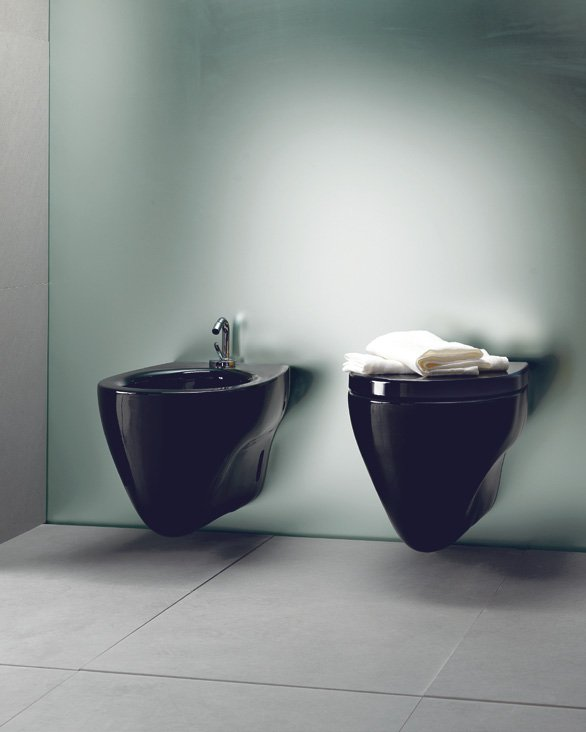 Muse 56x36 bidet by ceramica catalano design matteo thun for Ceramica catalano