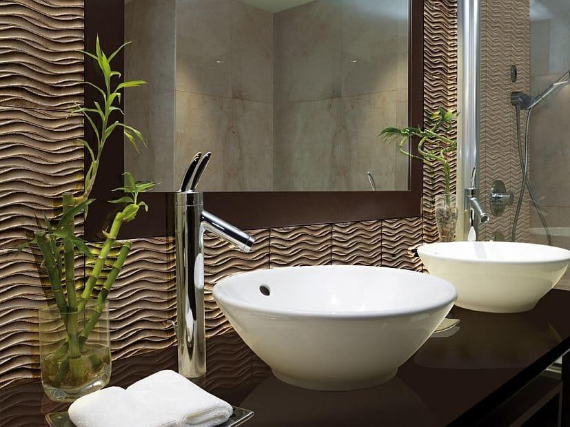Revestimiento de pared de vidrio para interiores wave by - Revestimientos de fibra de vidrio para paredes ...