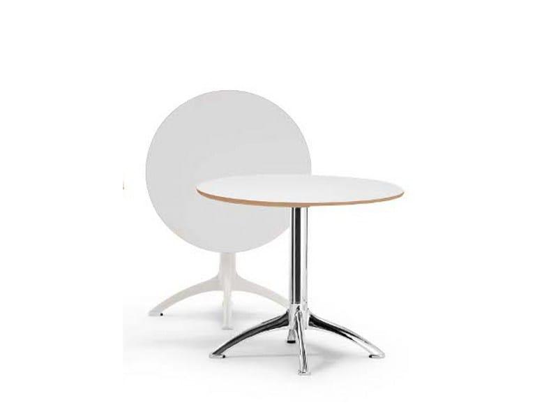K4 table ronde by segis design bartoli design - Table ronde rabattable ...