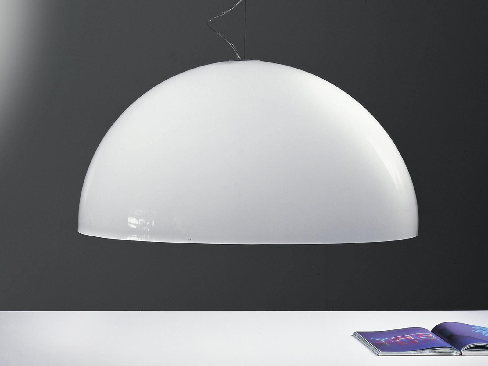 Lampada a sospensione in metacrilato blow by martinelli - Lampada sospensione design ...