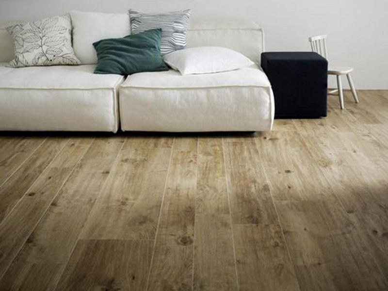 Pavimento in gres porcellanato effetto legno TREVERKHOME by MARAZZI