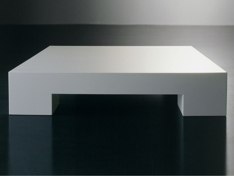 Sumo square coffee table by meridiani Low coffee table square
