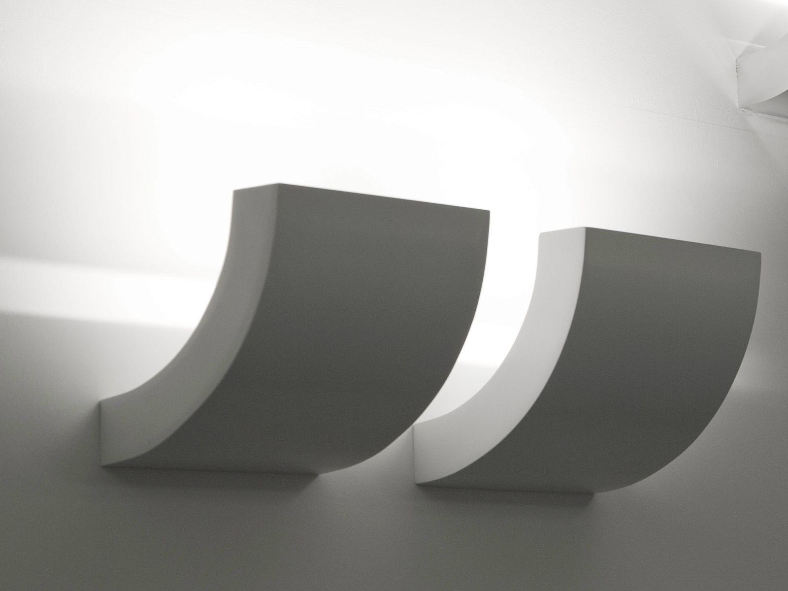 design indirect light halogen aluminium wall lamp picchio. Black Bedroom Furniture Sets. Home Design Ideas