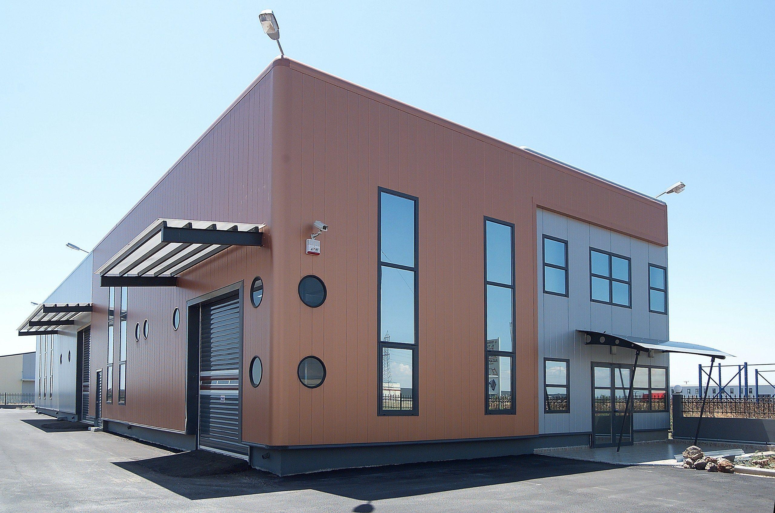 Metal Panel Facade : Insulated metal panel for facade termopareti wpm c by