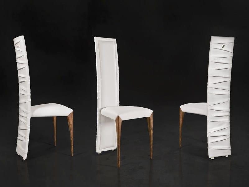 Il pezzo 7 sedia by il pezzo mancante design cosimo for Sedia design schienale alto