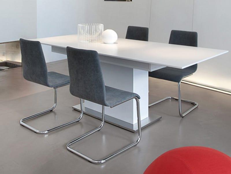 gepolsterter freischwinger aus stoff jude s kollektion st hle collection by domitalia. Black Bedroom Furniture Sets. Home Design Ideas