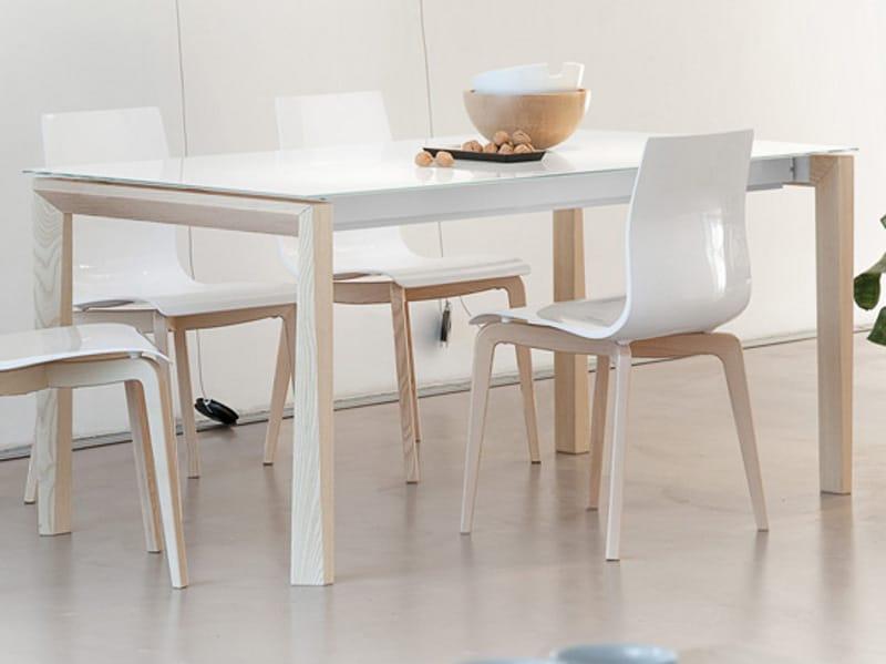 Universe 160 tavolo in legno by domitalia design studio balutto ...