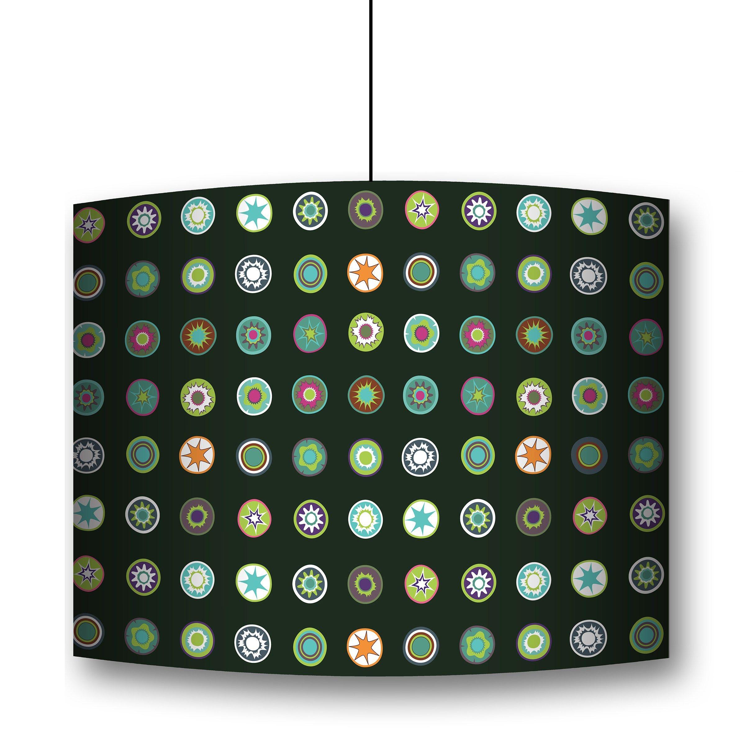 sticker mural en tissu millefiori by conceptuwall. Black Bedroom Furniture Sets. Home Design Ideas