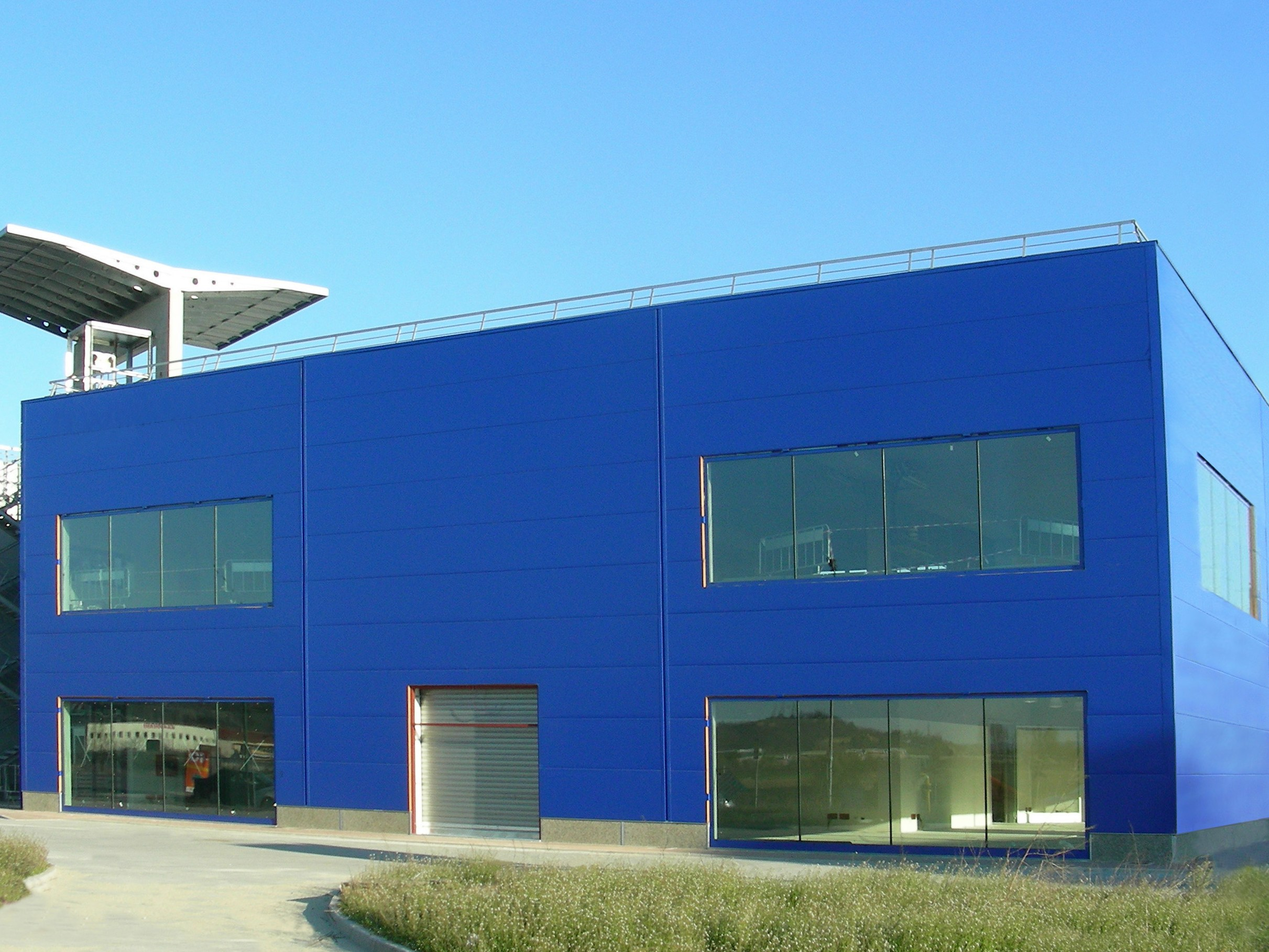 Metal Panel Facade : Insulated metal panel for facade star by isolpack