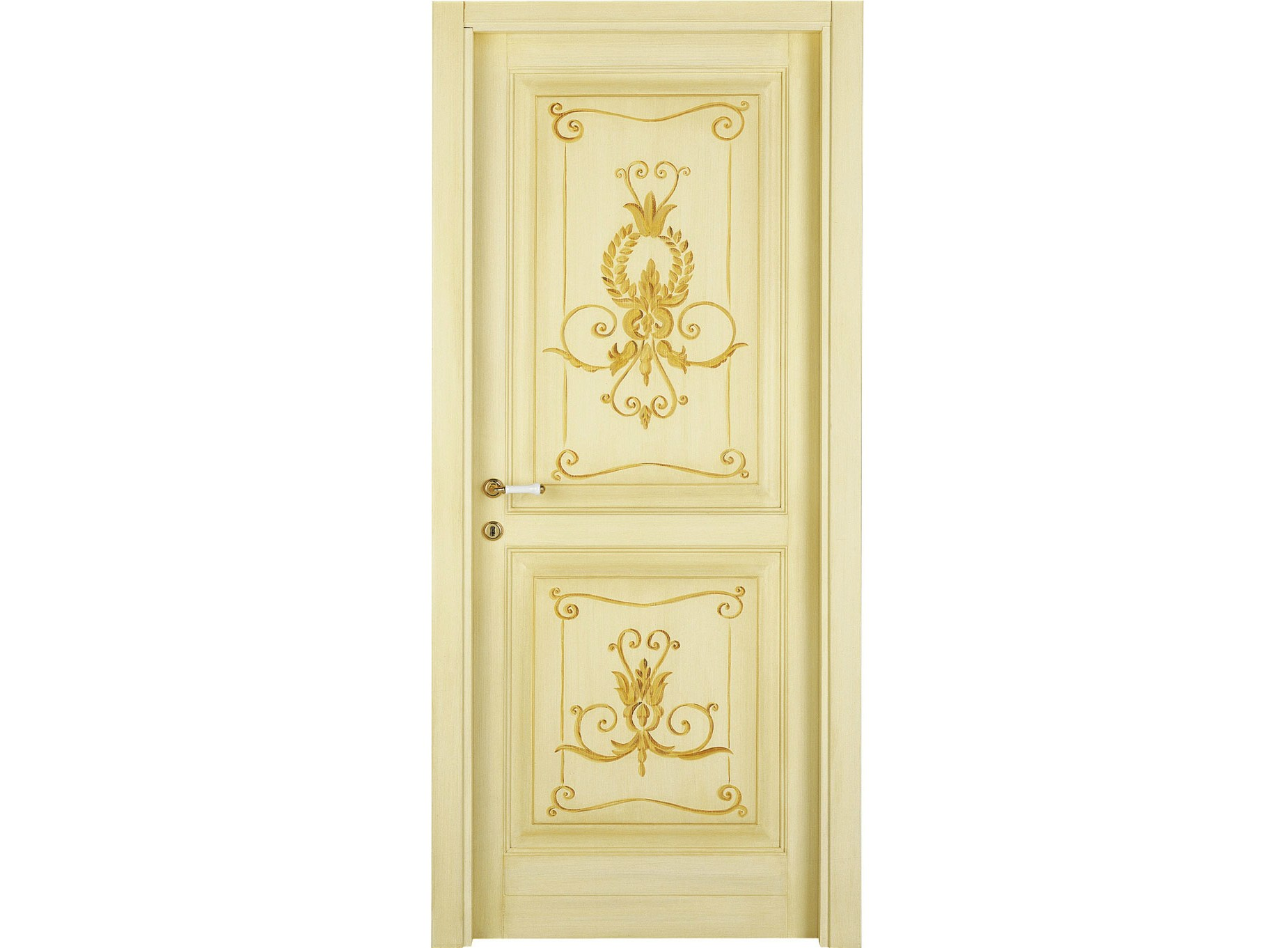 Porte interne decorate a mano lunamare le porte by di bi for Porte antiche prezzi