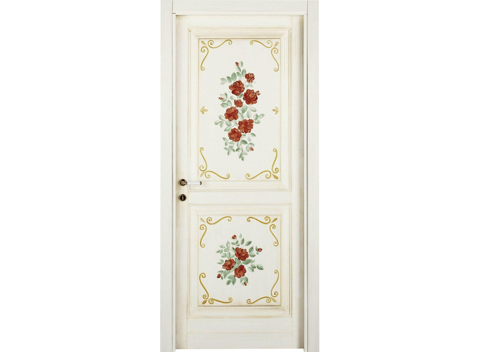 Porte interne decorate a mano lunamare le porte by di bi - Porte decorate antiche ...