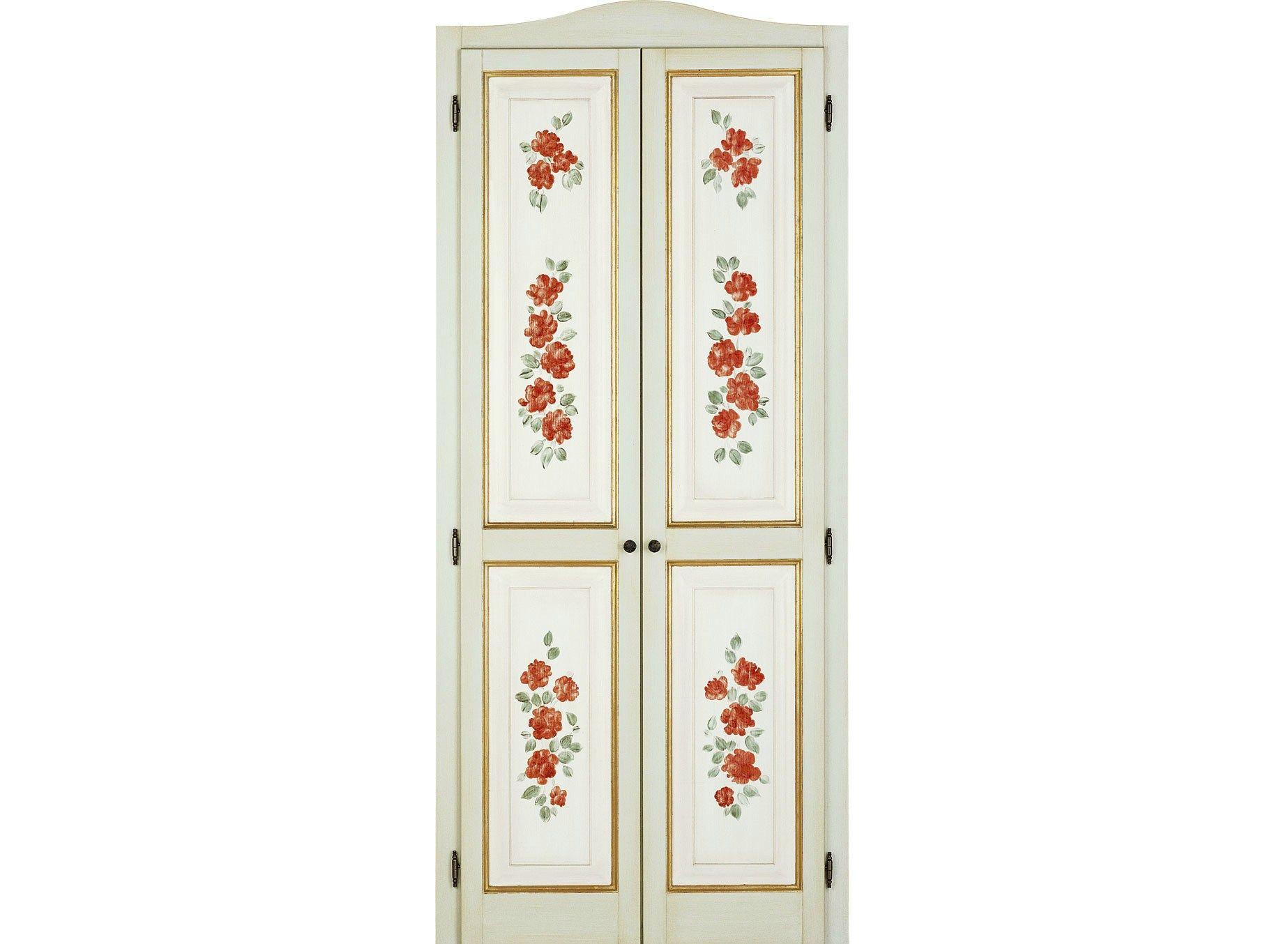 Porte interne decorate a mano lunamare le porte by di bi for Porte interne antiche