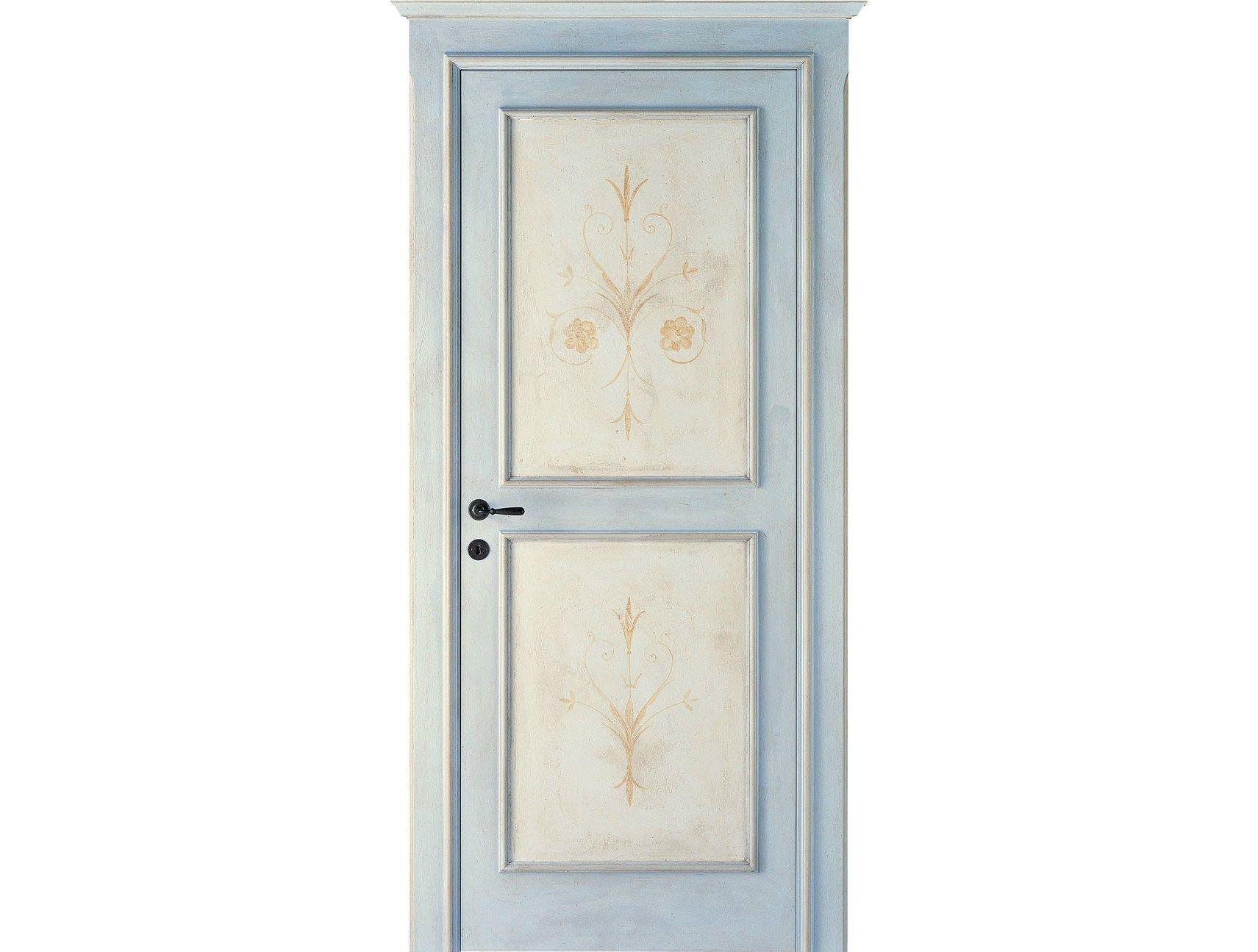 Porte interne decorate a mano lunamare antiche porte by di bi porte blindate - Porte decorate antiche ...