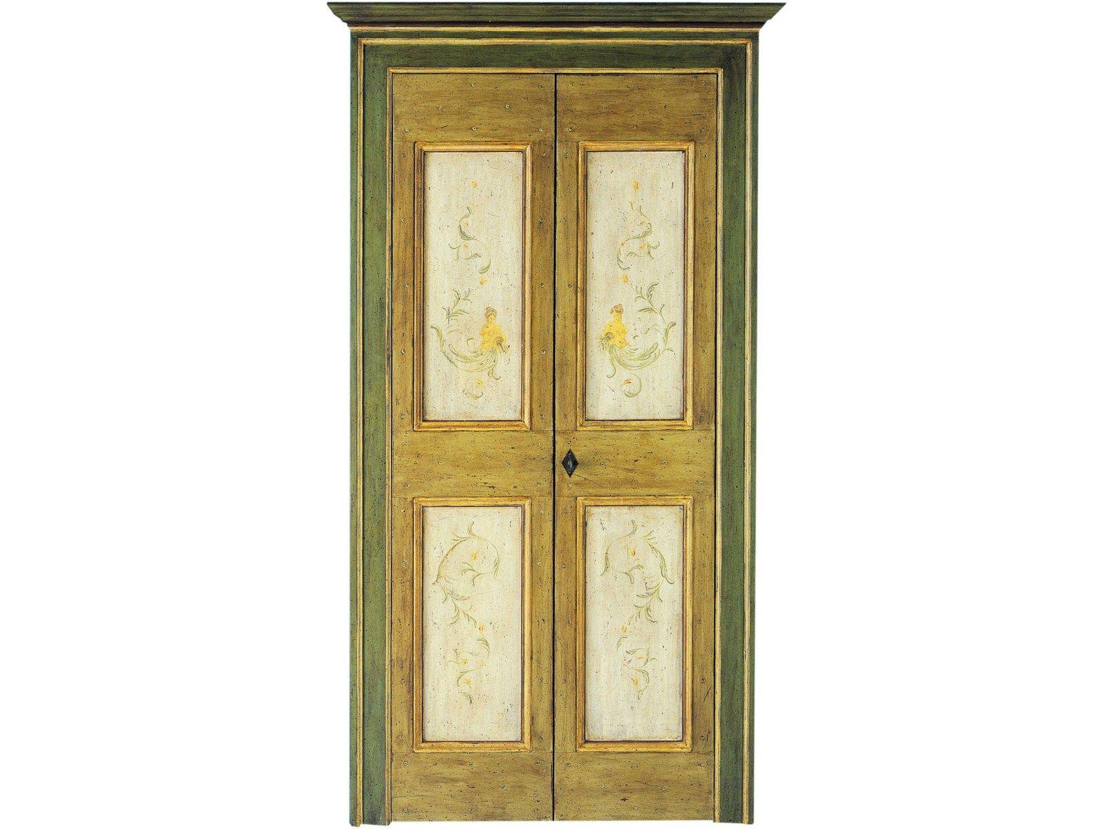 Porte interne decorate a mano lunamare antiche porte by - Laccatura porte interne ...