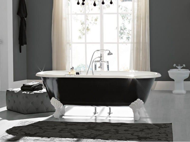 Vintage vasca da bagno su piedi by bleu provence - Vasca da bagno con i piedi ...